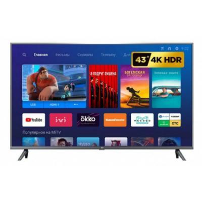 Телевизор LED Xiaomi Mi TV 4S 55 дюймов черный  (140см)